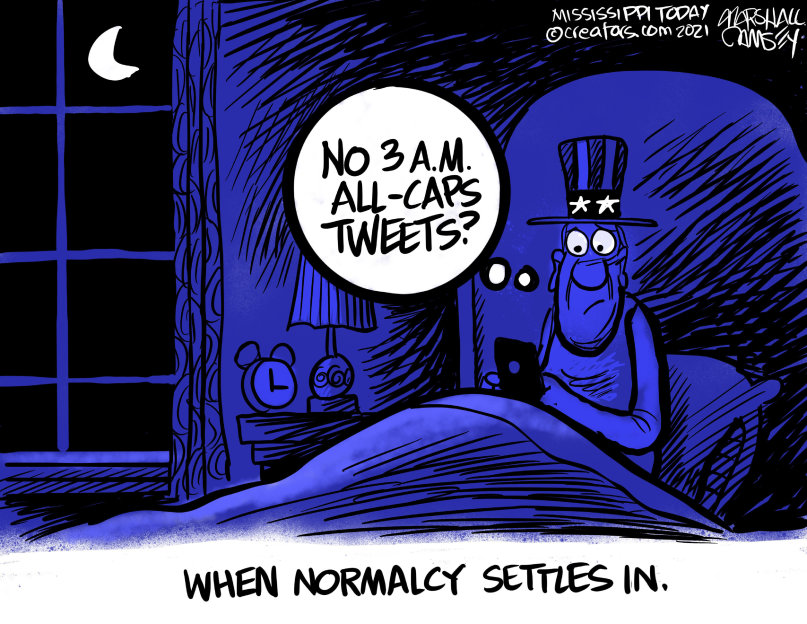 #sundayvibes #NORMALCY #SundayMorning #President #PresidentBiden   I woke up relaxed and well rested for the first Sunday in well over 4 years. 💙