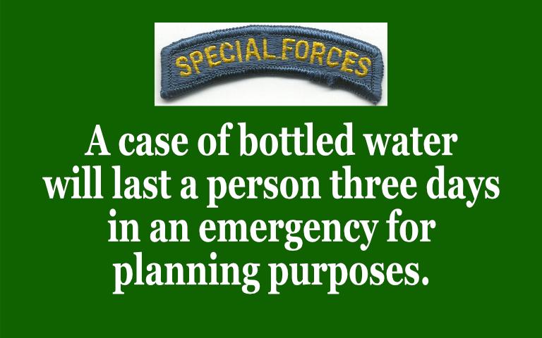 Special Operations Survival Hacks and information #disasterpreparedness #flooding  via @SlideShare #climatechange #lifehacks #mondaythoughts