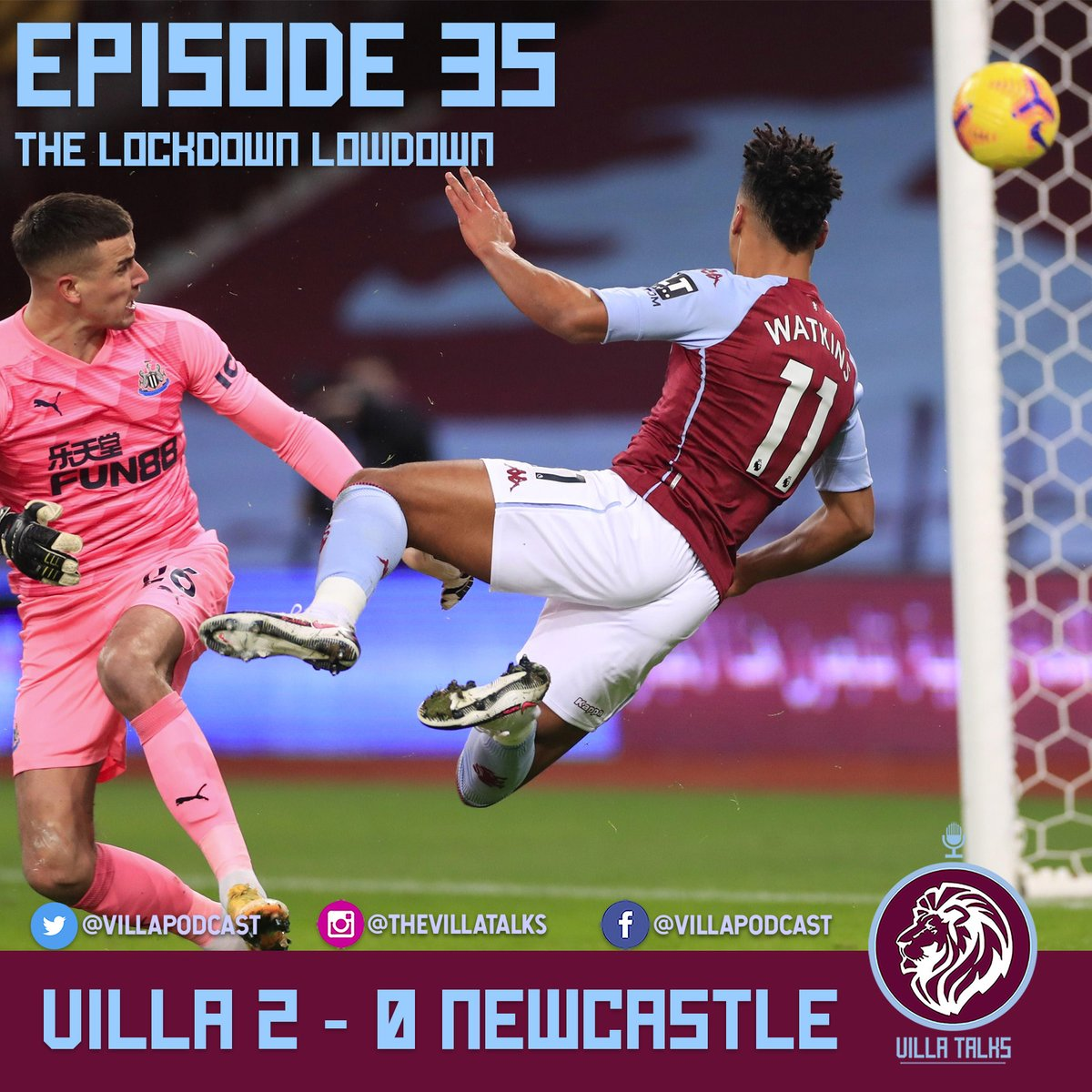 🎙️Episode 35🎙️ w/ @ACanning10 @JUGSYAVFC @jakemont   ✅2nd Gear Aston Villa on another planet to #NUFC ✅Traore's footballing brain ✅Nakamba 10/10 ✅#TargettTrajectory ✅Konsa's Consistency ✅Burnley preview  Please subscribe and RT  #AVFC