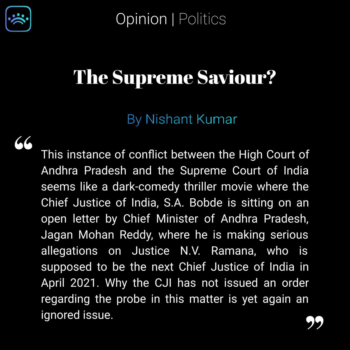 ...abuse of emergency powers and the role of the Judiciary in it.  Tap on the link to read more:   #India #government #federalism #judiciary #supremecourt #court #politics #constitution #Ambedkar #Nehru #president #CJI #bobde #highcourt #narendramodi (2/2)