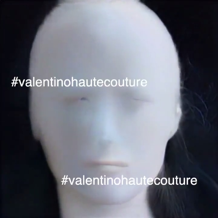#ValentinoHauteCouture #CodeTemporal The process of Couture is reinterpreted through machine learning algorithms, then edited in a digital experience made in collaboration with Robert Del Naja. Tune in to watch on Tuesday, January 26th at 3:00PM CET, on .