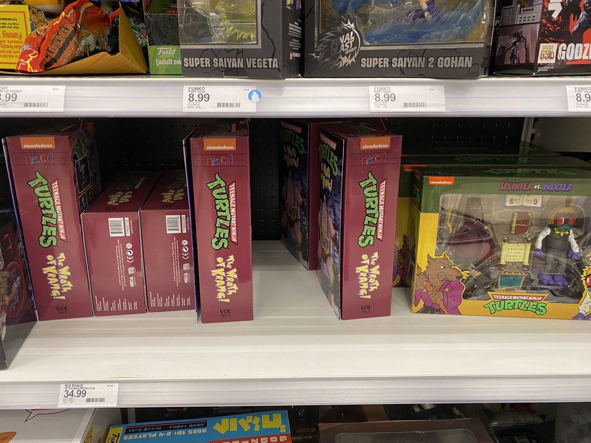 When you strike gold at the local target. #TMNT #toys #collecting