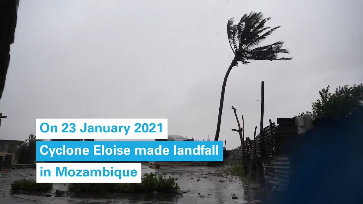 #CycloneEloise made landfall in Mozambique yesterday and continues to rips through the country. In Beira, still recovering from two huge tropical storms in the last two years, @UNICEF_Moz is on the ground, readying our response for families in need.