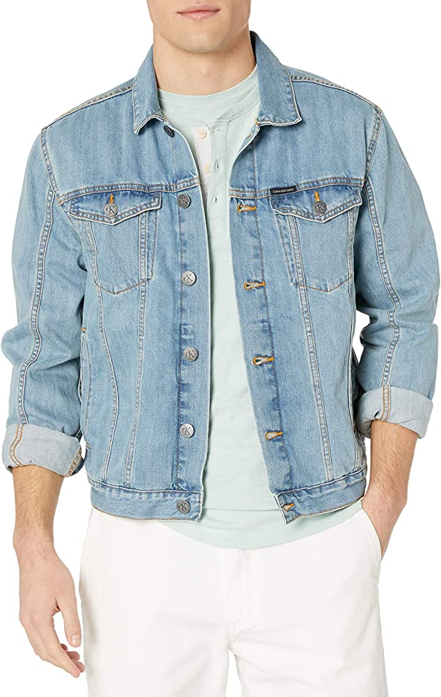 """Get yourself the wildest wardrobe this Winter. Hi5Jackets has brought you this Men's Sky Blue Denim Jacket available in the great quality of denim. Use the """"WIN21"""" coupon code to get a flat 15% off buying any product this winter.  Go shopping:"""