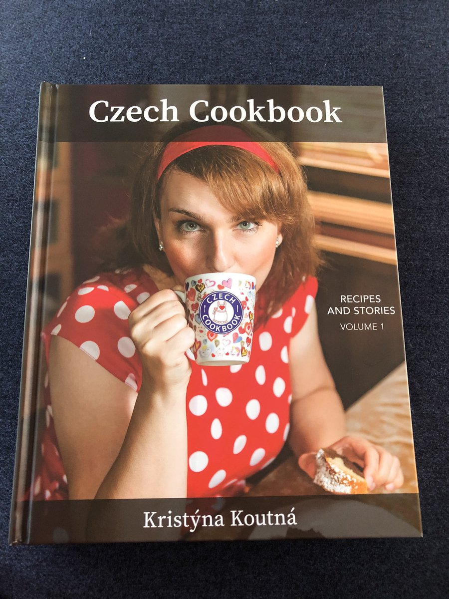 My new recipe book from @czechcookbook arrived today. I've really been missing Czech cuisine recently so I'm excited to try some old favourites. 🇨🇿😋 #Czech #sundayvibes