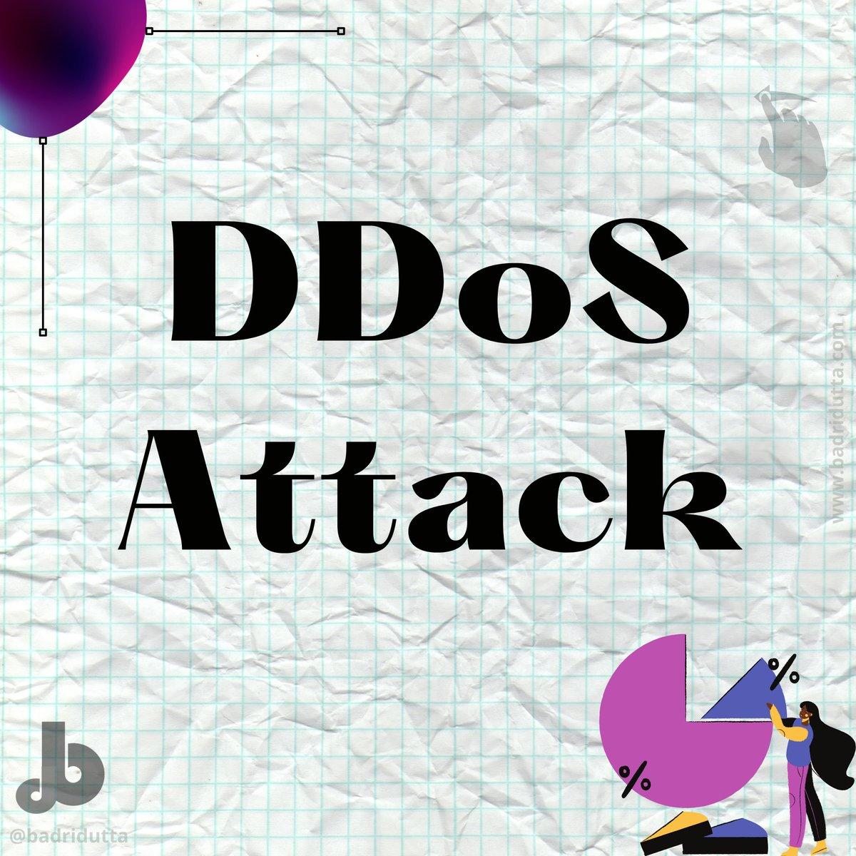 What is a DDoS Attack? #webdesign #design #graphicdesign #websitelaunch #ddos #webdevelopment #webdesigner #branding #firewall #ddosattack #websitedesign #badridutta #webdeveloper #ui #ux #websitesecurity #socialmedia #uidesign #digitalpotli  #dnsrecord #cloudsecurity #uxdesign