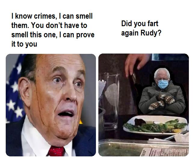 #BernieSandersmemes #Berniememes #RudyGiuliani
