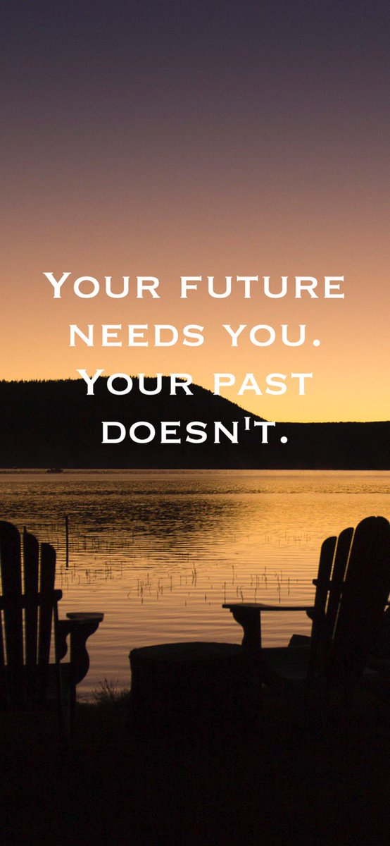 Use your past as a place of reference, not residence. Life is about going forward. Learn from the past but don't live there. You disrespect your future greatness by not looking forward at it and walking, even running towards it. Let's GO! #motivation #inspiration #sundayvibes