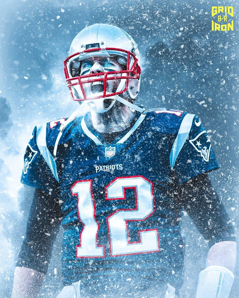 """.@TomBrady went 61-9 in games with temperatures below 40 degrees on the Patriots.  It's expected to be snowy and sub-30 in Green Bay.  """"My mind doesn't slow down in the cold, but their bodies do""""  ❄️ @brgridiron ❄️   (via @jayfeely)"""