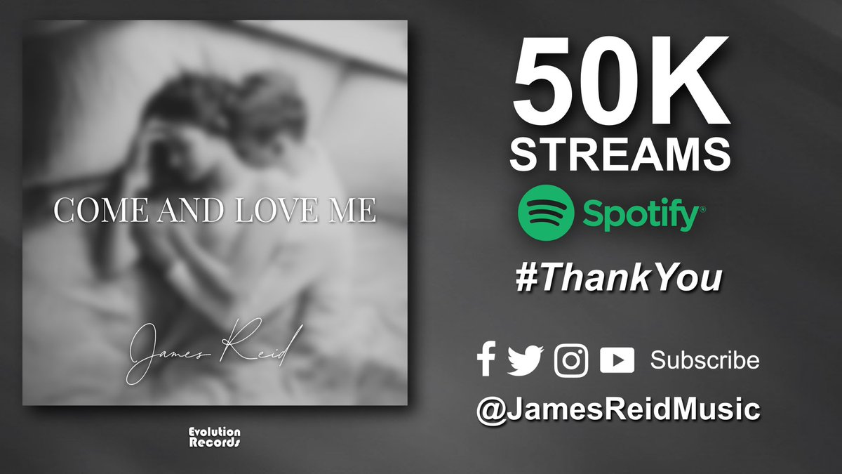 This week we have reached over 50K #Spotify streams for the debut single from @Jreidmusic1   Thanks to our fans in #LosAngeles #California #Orlando #Florida #UK #Europe #Asia #SouthAmerica  Listen to the track here: 👉🏻   #NewMusic #NewMusicAlert #Music