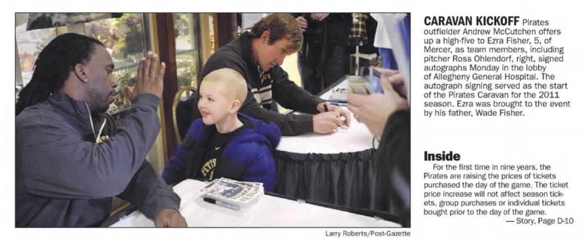 10 years ago (1/24/11): Pittsburgh Post-Gazette photo of Andrew McCutchen. #LetsGoBucs