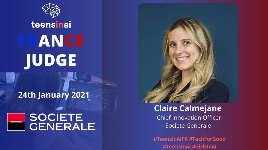 🇫🇷 France Hackathon demo day; suivez maintenant le live avec @ccalmeja & Annette Messemer from Societe Generale, Nathalie Beauguerlange de @DeepMind, @PetertheHe Co-Fondateur de #TeensInAI   #TeensInAIFR #GirlsInAI #TechForGood