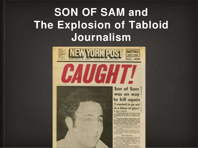 Son of the Sam, Rupert Murdoch and the Explosion of Tabloid Journalism   via @SlideShare #MediaWatch #NewYorkCity #Manhattan #history #NewYorkPost #FoxNews #PretendItsACity #SundayThoughts