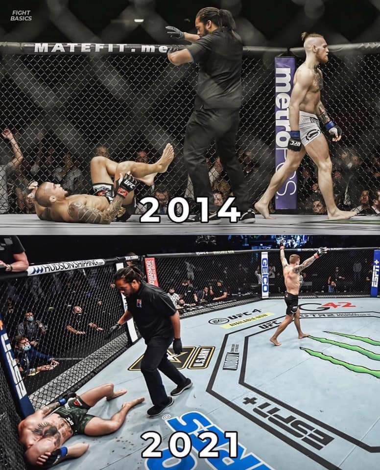 This picture right here shows everything. When you have that passion and fire still burning in you, you dig deep & you keep climbing that mountain till you reach the top. @DustinPoirier is the motivation u need to get through anything. 💎 #ufc257 #UFCFightIsland #ConorVsPoirier