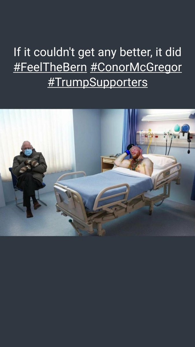 #TrumpSupporters #FeelTheBern #ConorMcGregor