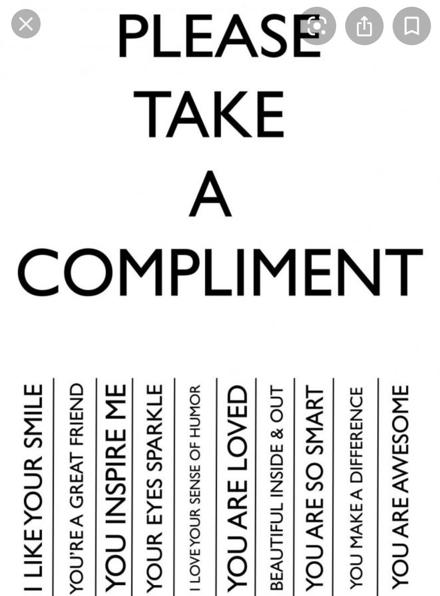 It's #NationalComplimentDay! You always want to make sure someone knows they are appreciated, but maybe today take a little extra time to make it happen!! #SundayThoughts
