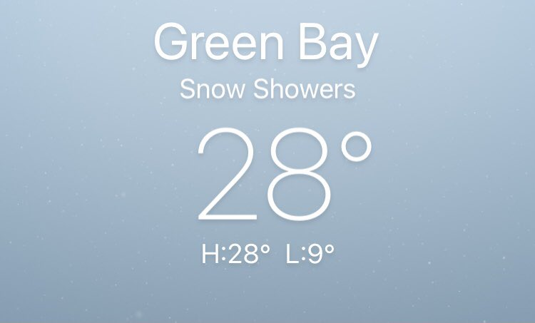 Brrrr! It's cold in #GreenBay #Wisconsin! #NFL gonna need a couple extra refs to check the balls every 10 minutes & #pumpthemup during the #NFCChampionshipGame #NFC21 #TBvsGB #NFLPlayoffs #Bucs #patriots #tombrady #deflategate #science #ScienceIsBack #Buccaneers #TB12