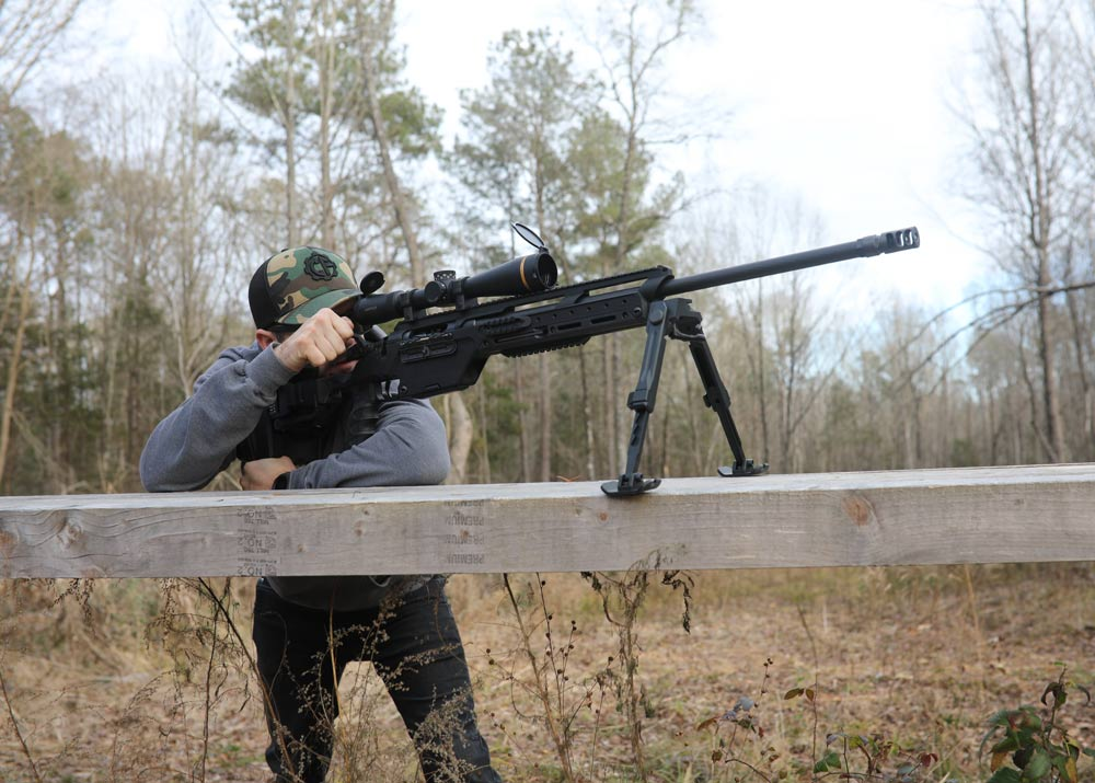 How far would you shoot with the Steyr SSG 08-A1? This rifle can reach that's for sure. Tag a range buddy below and have them get their entries in to double your odds of having a range day with this rifle. Link below to enter -