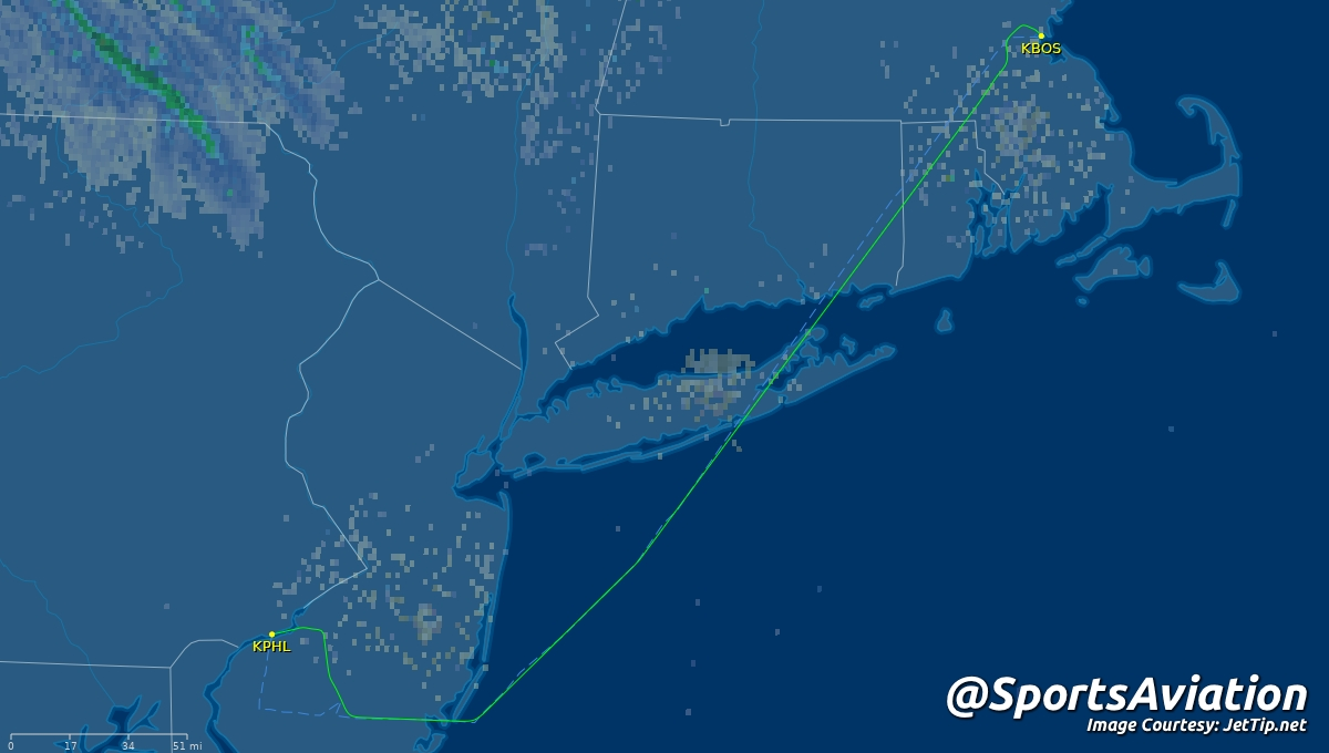 🏒 Philadelphia Flyers (@NHLFlyers) 🗒️ #AnytimeAnywhere home from first trip last night 🆚 0-1-1 @ Boston Bruins #NHLBruins #PHIvsBOS ✈️ DAL8952 | N664DN | B752 🛫 BOS - 11:34pm ET 🛬 PHL - 12:28am ET Track Here👉🏼: