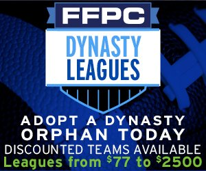 Starting at just $77: Adopt a high stakes fantasy football dynasty team here:  #fantasyfootball #dynasty