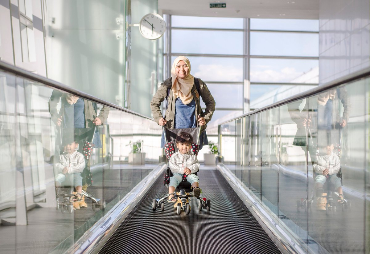 When to bring a stroller on a trip (and when to leave it behind)  #blog