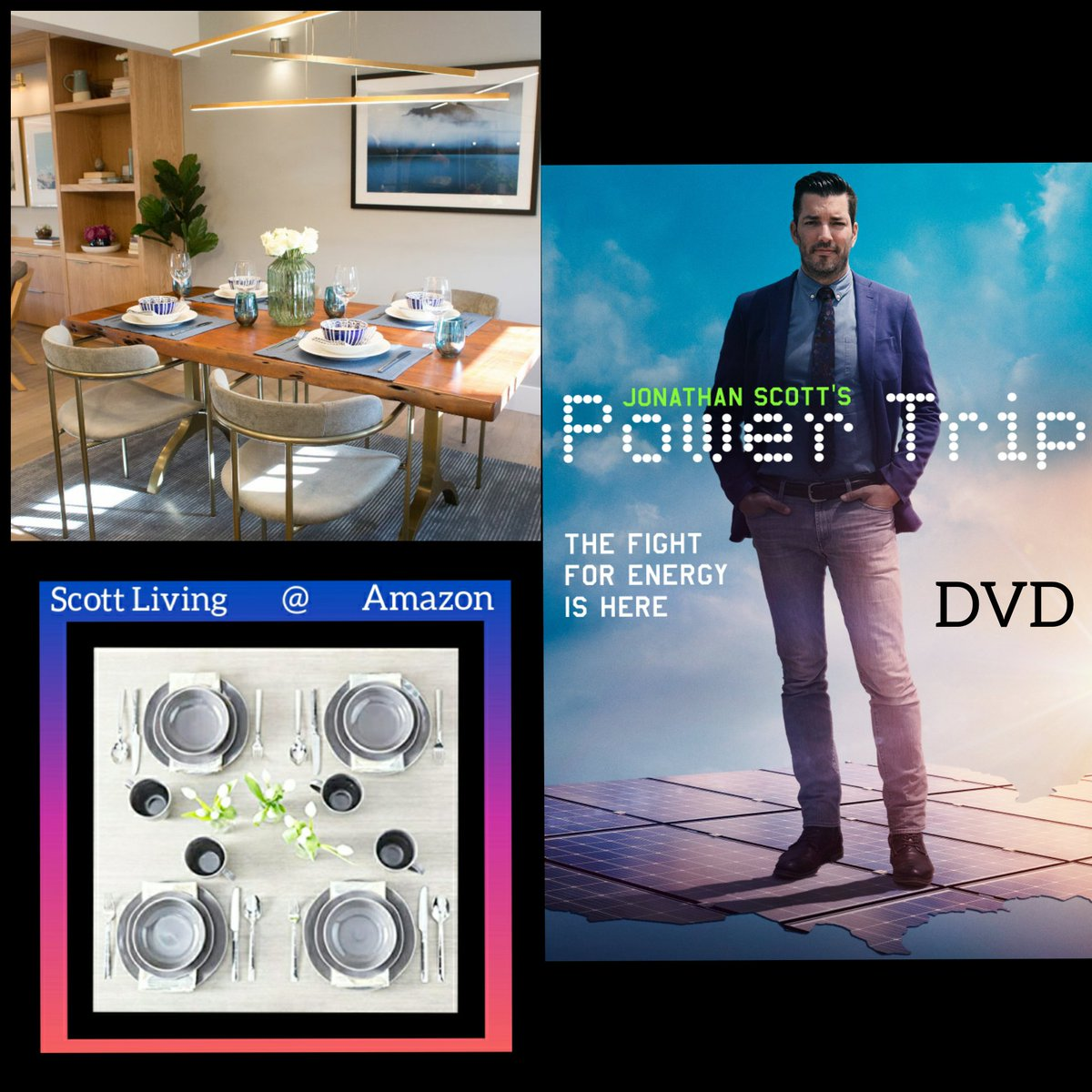Looking for a different layout to your space? Get inspired like Nathan & Natalias episode of Property Brothers by shopping with Casaza & Scott Living while watching Jonathan Scott's new DVD #SundayMorning #sundayvibes #SundayThoughts #SundayMotivation #SundayService #Trending