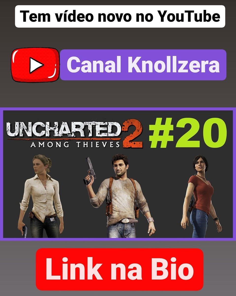 Tem vídeo novo no canal do YouTube!     🎮🌏🛩️ #uncharted2 #amongthieves #naughtydog #playstation #ps4 #bluepoint #videogame #gamer #live #stream #streamer #youtube #youtubebrasil  #youtubebr