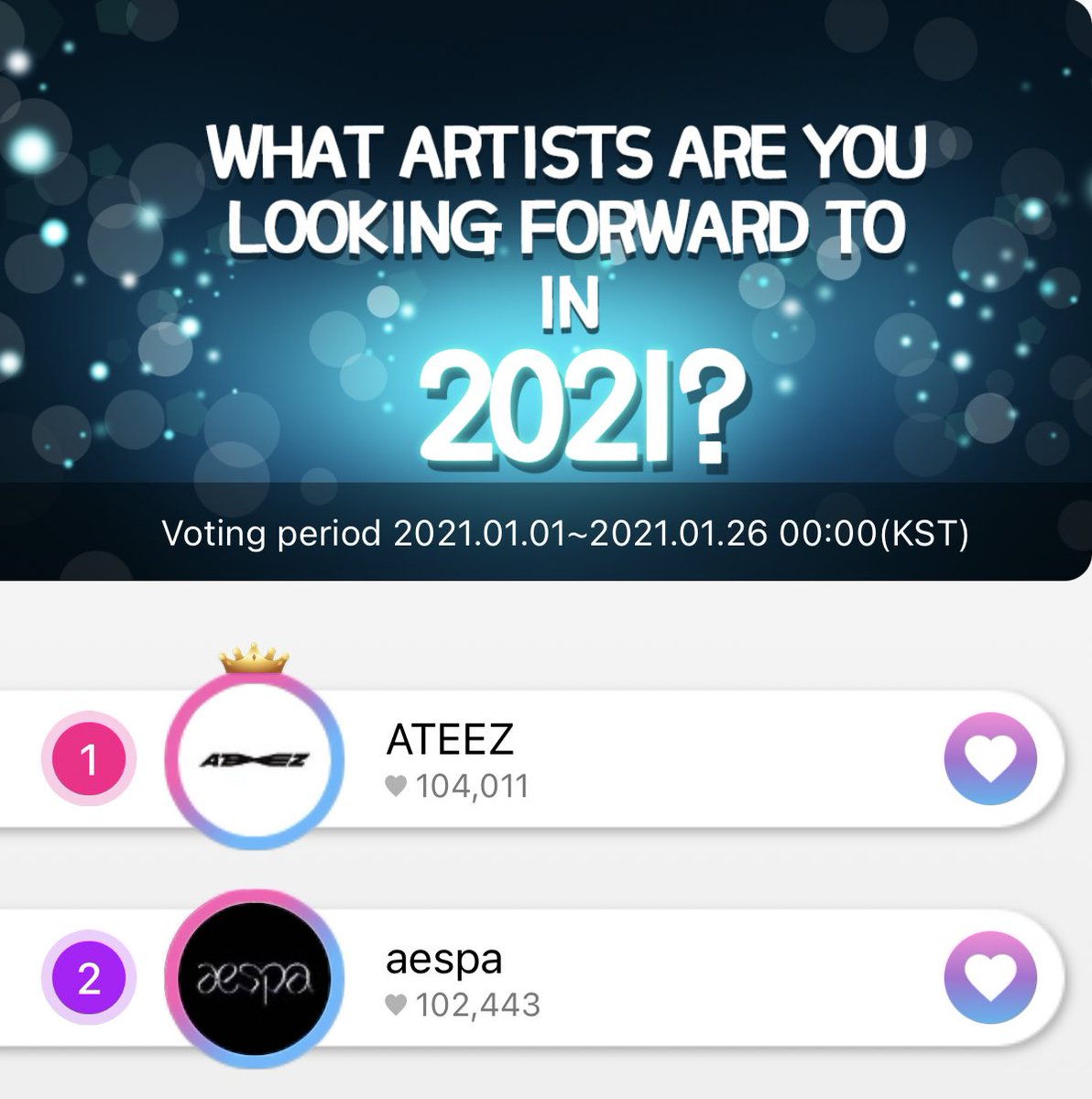 EVERYONE GO VOTE ON THEKKING ! PRIORITIZE THIS CATEGORY , WE NEED A GANGNAM AD !  IT ENDS TOMORROW!  #ATEEZ #에이티즈 @ATEEZOfficial