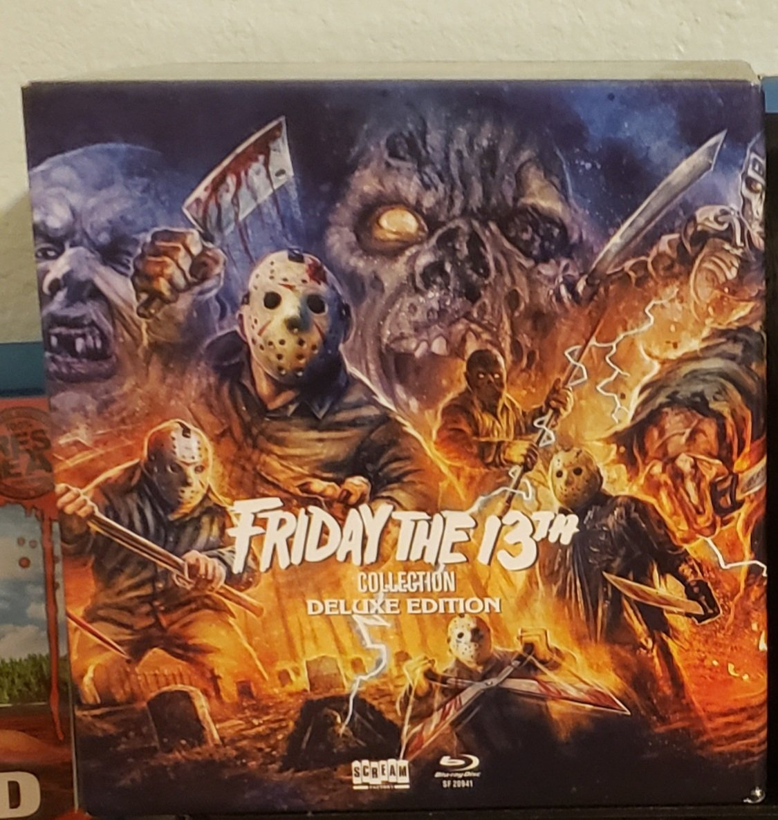 Continuing my #FridayThe13th marathon with part 4 the final chapter