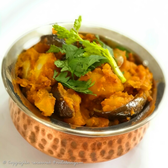 #repost Please check out the recipe for Aloo Baingan   #Curries Do try it out and give me feedback.  Thanks.