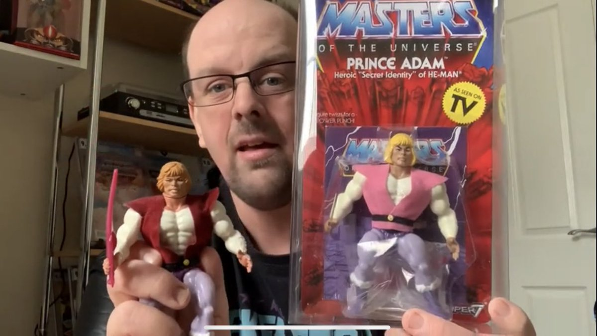 Head over to my YouTube channel where today I'm talking #MastersoftheUniverse #actionfigures -