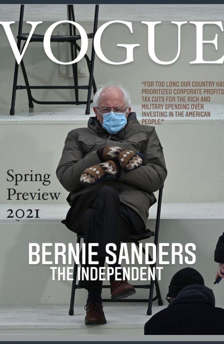 @CBSSunday LOL!.😂🤣Good morning #CBSSunday .. Good morning laughs needed..😅 Bernie Sanders mittens has definitely many smitten..😅 Soo many #berniemittens memes out there.. #SundayMorning ☕🧤 (WHERE'S mitten emojis?)