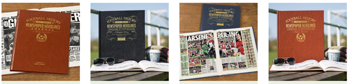 #FootballGifts Direct offer  #Personalised #FootballBooks, giving a fascinating insight into the history of many of the #EPL's top teams.  Makes a cracking #Christmas #Gift..   #Arsenal #Brighton #Chelsea #Everton #Liverpool #ManUtd #ManCity #Spurs #Wolves