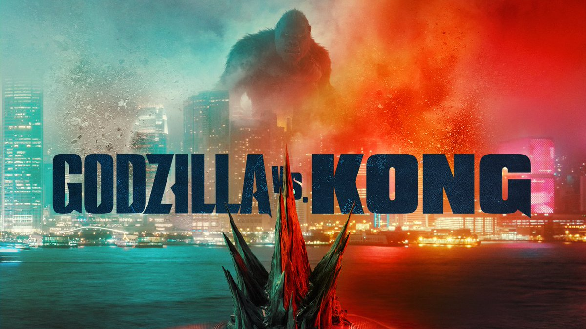 Legends will collide. Watch the long-awaited official trailer for #GodzillaVsKong, coming to theaters and streaming exclusively on @HBOMax*.  *Available on @HBOMax in the US only, for 31 days, at no extra cost to subscribers.