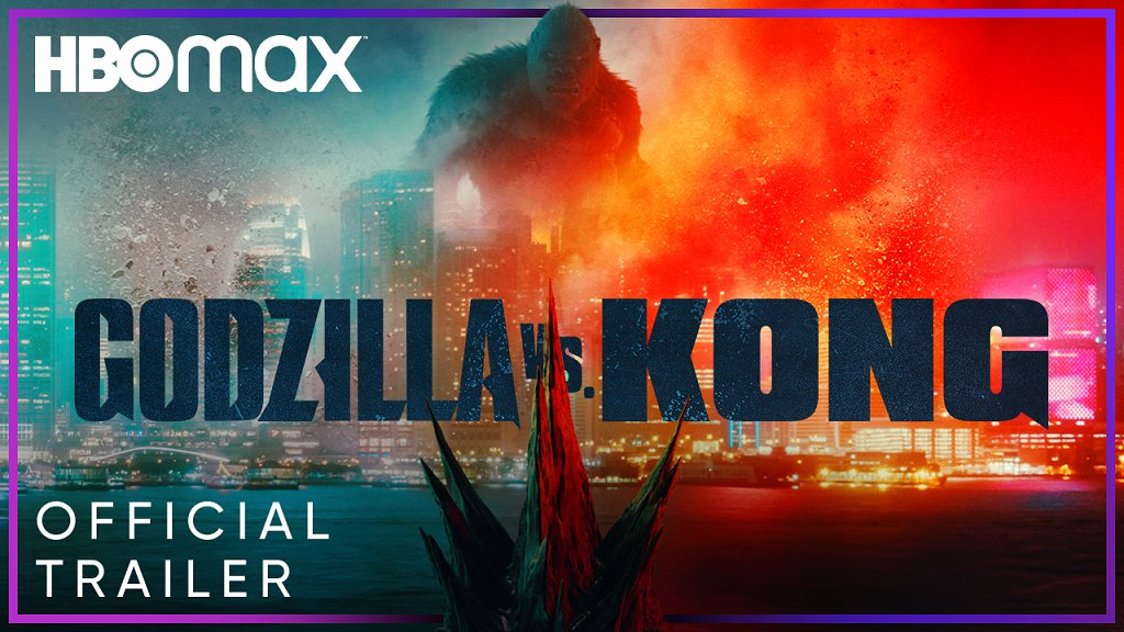 Will humanity survive a clash of the titans? Watch the official trailer for #GodzillavsKong, coming to theaters and streaming exclusively on HBO Max.
