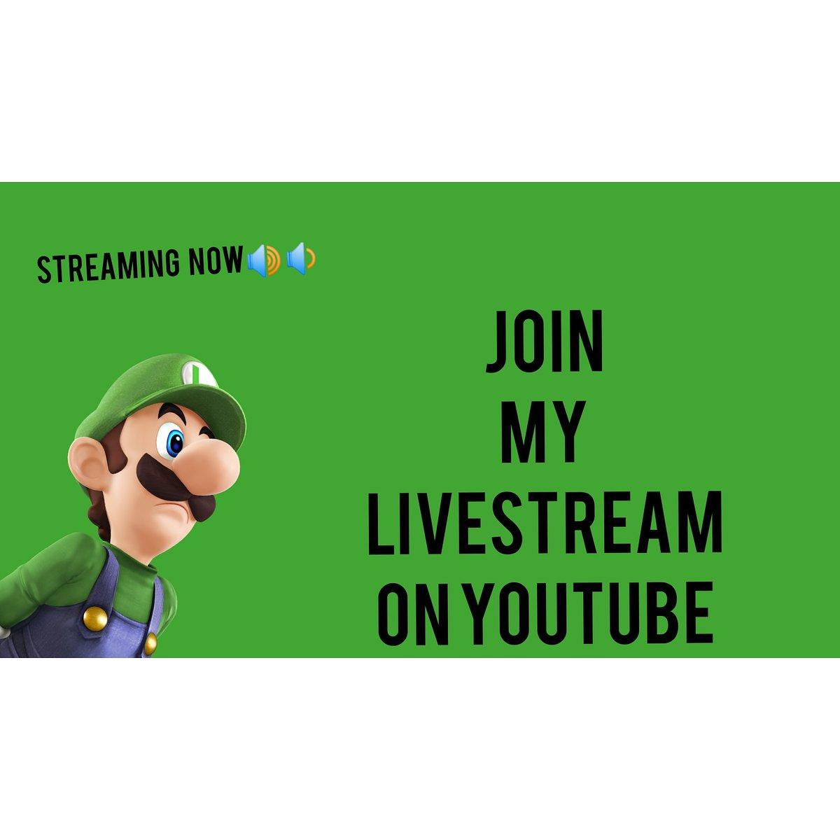 ⬆️⬆️STREAMING NOW⬆️⬆️ #MarioBros #SuperMarioMaker2 #SuperMarioBros #SuperMarioOdyssey #game #gamers #Livestream #Nintendo #sundayvibes #Subscribetomychannel #DynamiteTo800M #marioparty