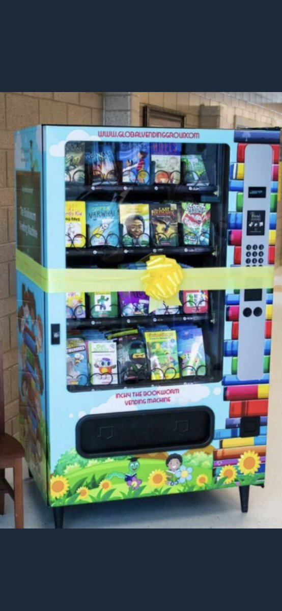 📚🎉🙏❤️⬇️76 unique donors have supported my Book Vending Machine Project that will bring smiles, excitement and BOOKS to my entire school. Looking for additional RT's and sprinkles please! #sundayvibes #DonorsChoose #BetterTogether2021
