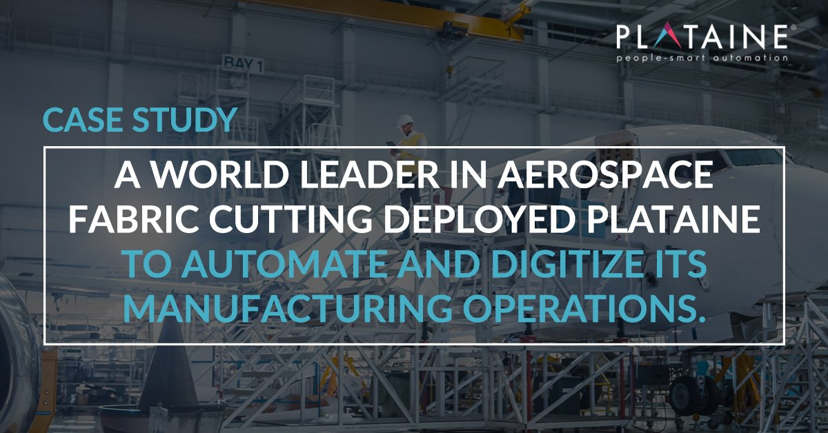 Discover why the world leader in aerospace fabric cutting deployed Plataine to automate and digitize its manufacturing operations.  Download the case study here >> https://t.co/5qTL9VCPBH  #Aerospace #Manufacturing #Optimization #Digitization https://t.co/ufqDaQppIu
