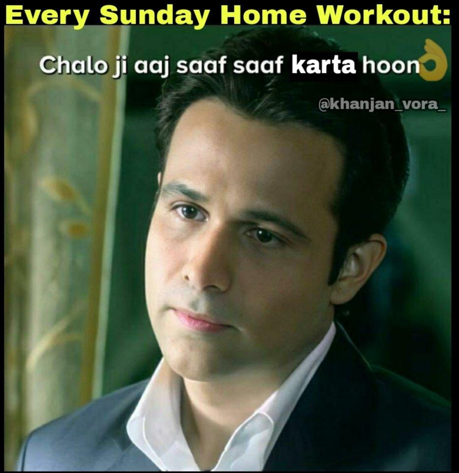 #sundayvibes #SundayMorning #SundayThoughts #SundayMotivation #mondaythoughts #MondayMood #MondayMotivation #memesdaily #MEMEKBASAH #memesindia  #Memes  Every Sunday Story: Music on, work chalu!