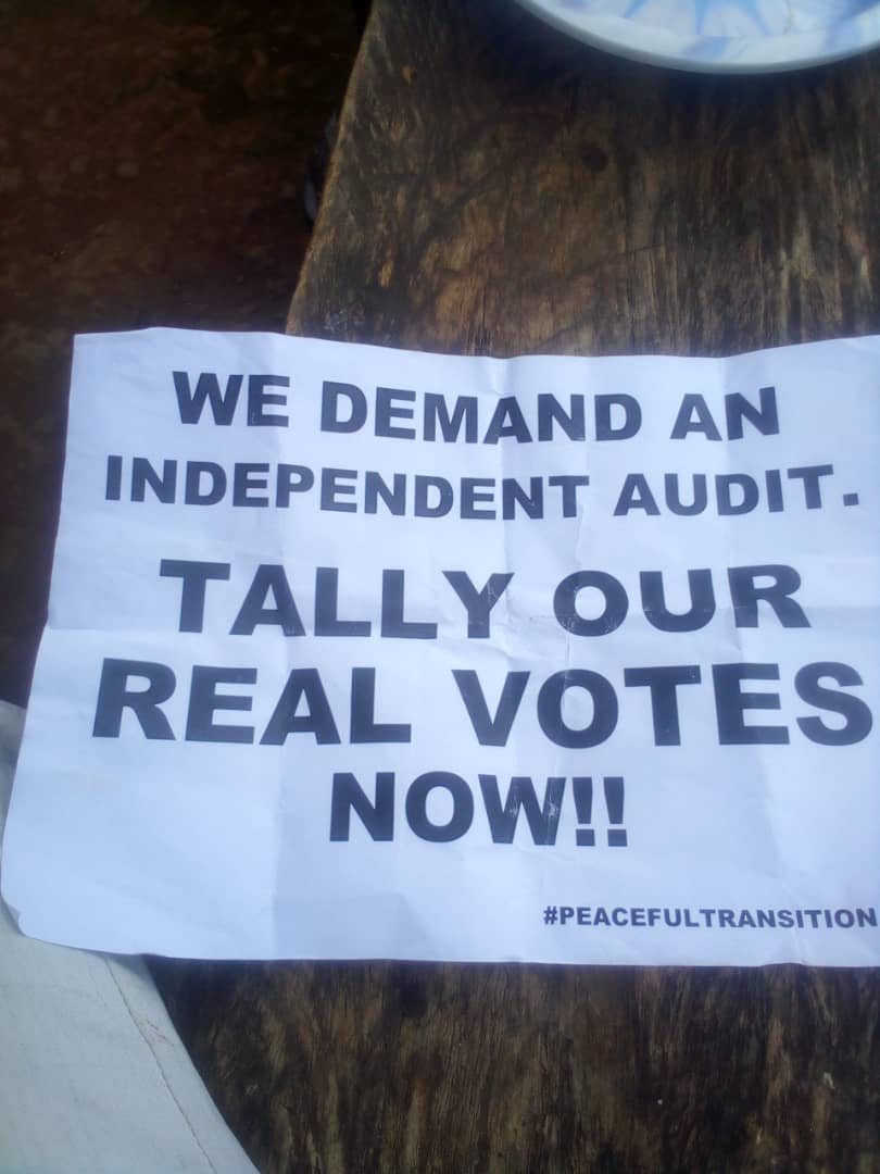 The election is not yet done , we need our victory , Ugandans need change #counteveryvote