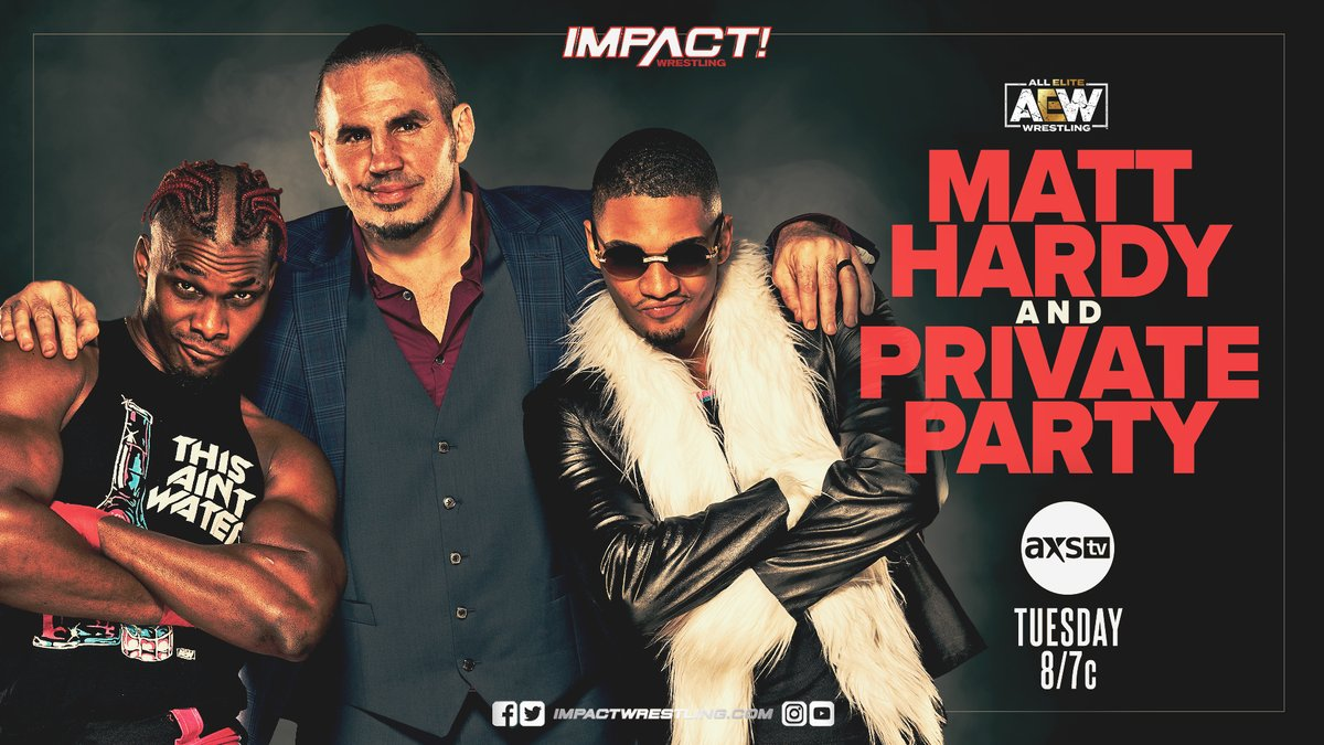 Private Party And Matt Hardy To Appear On Impact Wrestling This Week