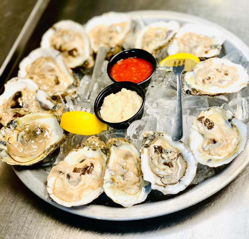 Shuck Yeah! It's Oyster Season at the Crab Shack! This is your LAST WEEK to enjoy our Raw, Charbroiled, or Loaded Oyster deals available ALL DAY EVERY DAY.