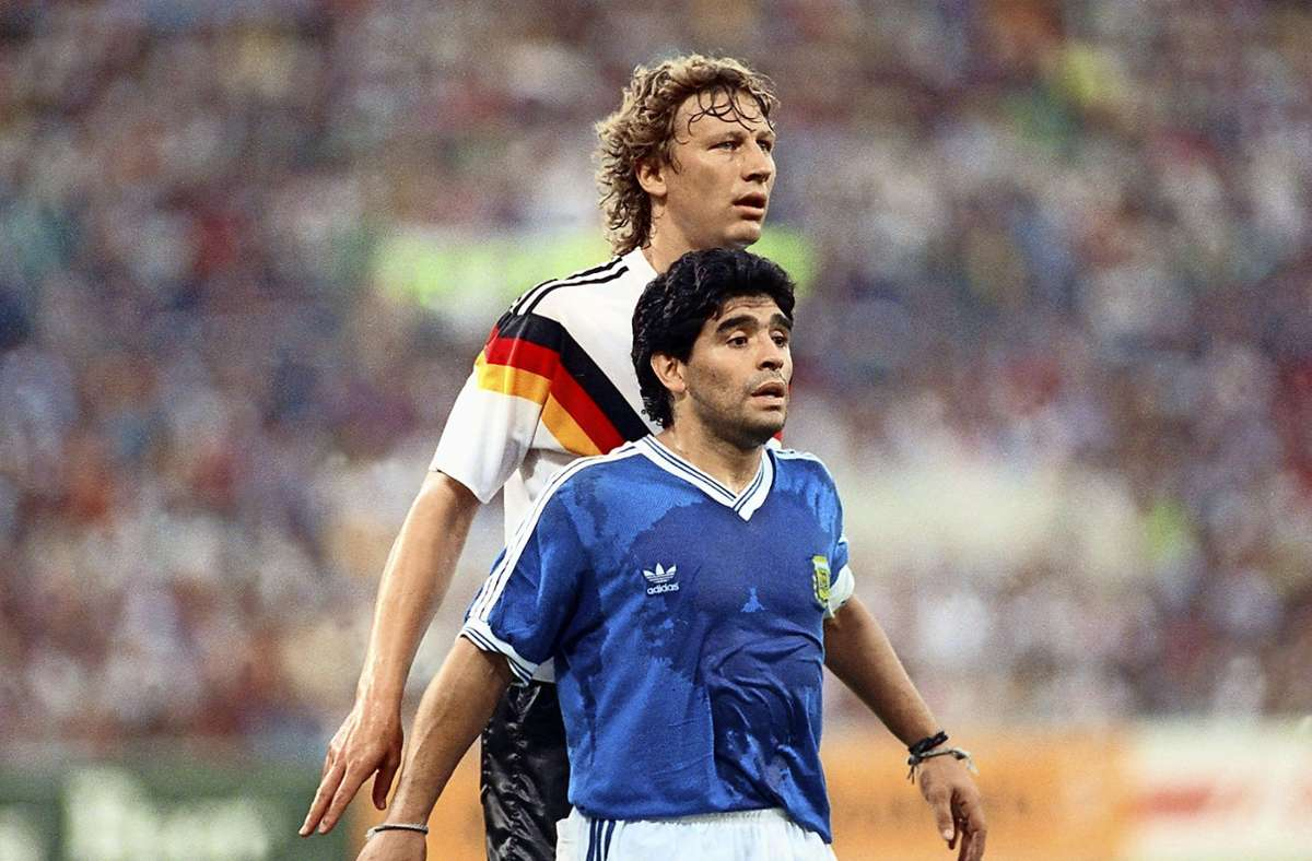 "... for West Germany against Argentina where he effectively marked #DiegoMaradona for almost the entire match, earning him the nickname ""Diego"". He was also part of Germany's disappointing 1994 #WorldCup campaign and collected in his career 76 caps."