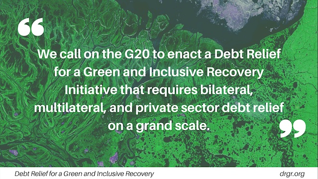 23 former Central Bank Governors and Finance Ministers issued a statement calling on #G20 and world leaders to support a green recovery & debt relief to developing countries:  @CSF_SOAS @boell_stiftung @UliVolz @kevinpgallagher @stephanygj