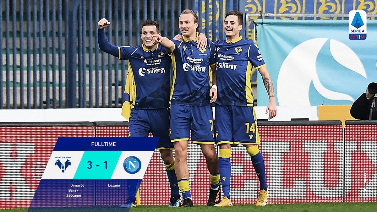 Verona Beat Napoli