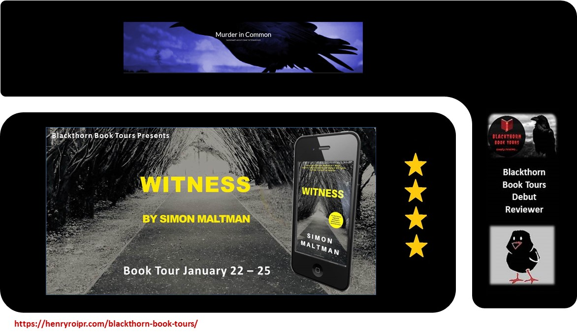 Witness by @simonmaltman  'Pastor Tom has a past. Many do in East Belfast post-Troubles. Sure there'd been times he'd been called upon to inflict a 'punishment beating.''  @JuneLorraineR     #mustread #BookTour #bookbloggers #writingcommunity #CrimeFiction