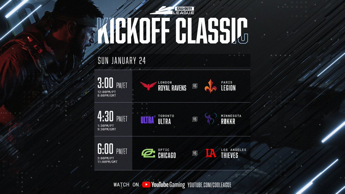 Day 2 of the CDL 2021 Kickoff Classic Event is live!  Tune in for more show matches, including OpTic vs LA Thieves