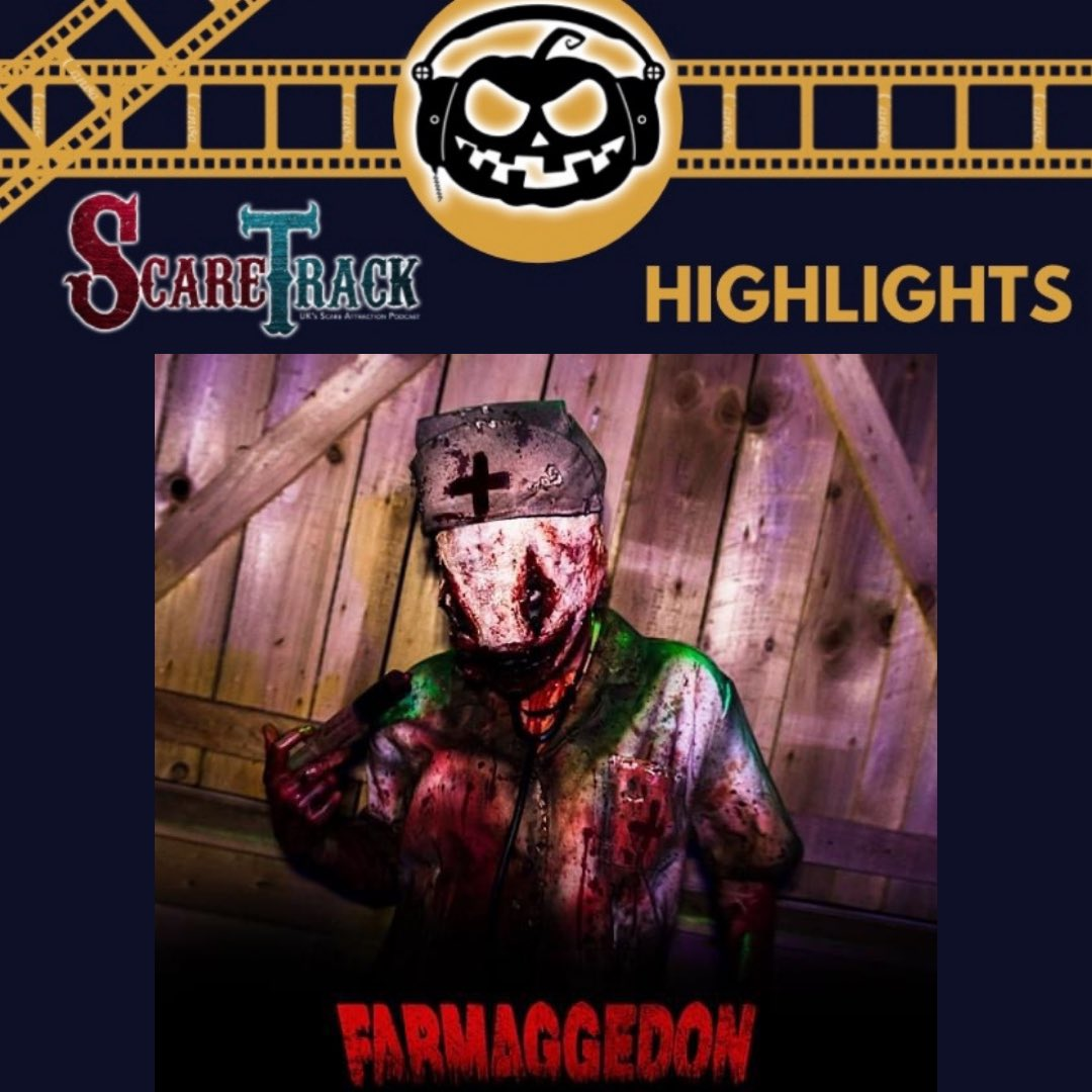 🎙ScareTrack Highlights🎞  Our next highlight is our *Behind The Screams* video from @farmaggedon in 2018.   Click the link below and be sure to subscribe to our YouTube channel.    . . #farmaggedon #haunt #halloween #behindthescenes