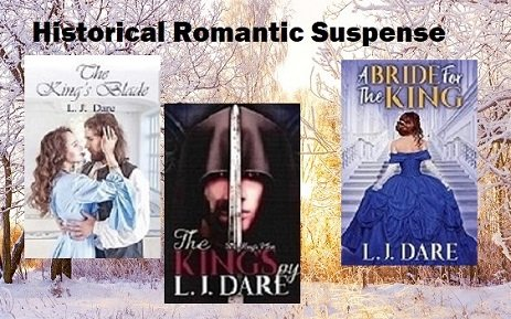 @LJDare1 #FiveStar reads of murder, deception & treason Book 2-The King's Spy   Book 1-The King's Blade      Read Ch. 1 excerpts at:   #BVS #AltRead #MondayMotivation #historical #ebook