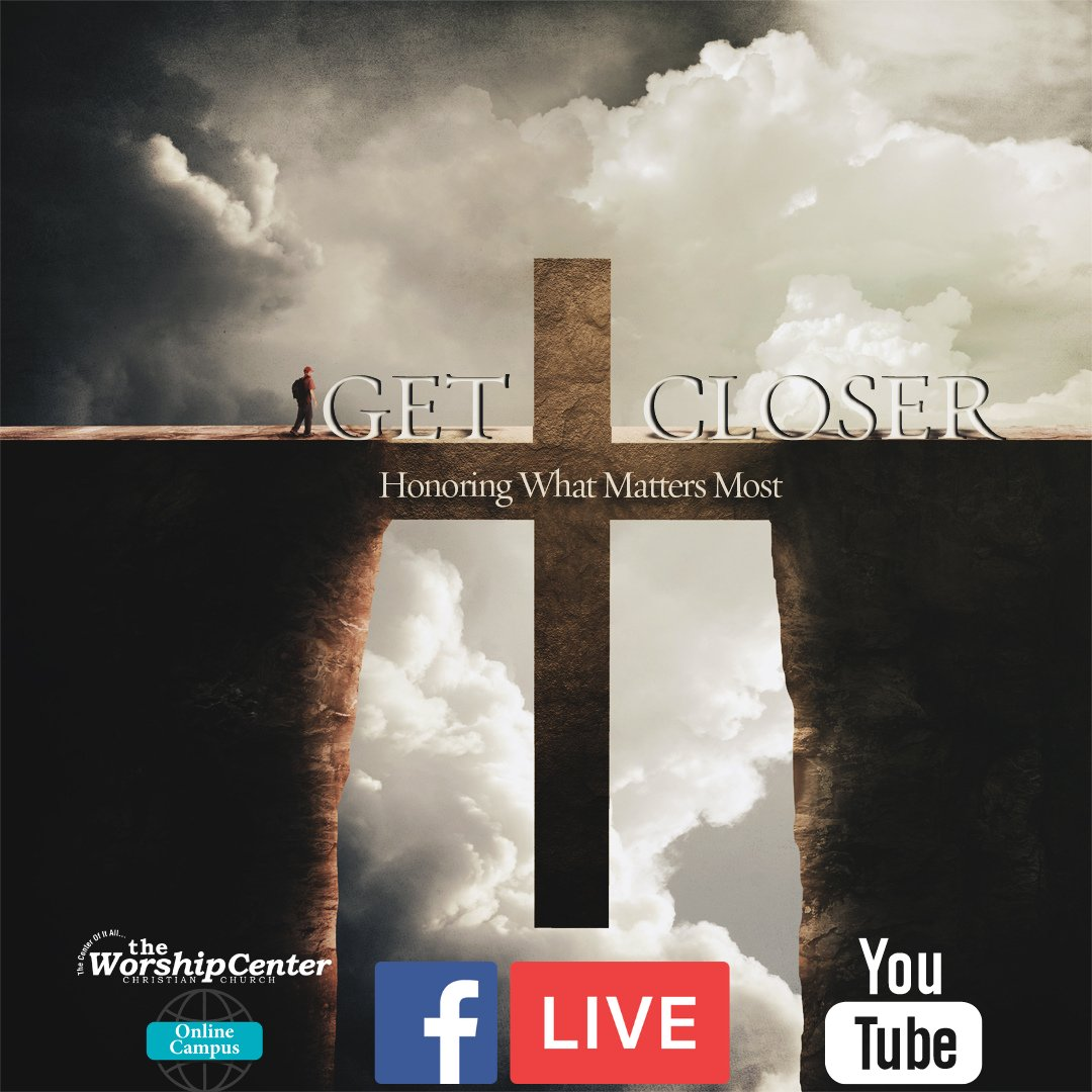 TWC is streaming LIVE! Log on now and worship with us as we continue the series #GetCloser. Watch here—  #SundayMorning #Jesus #Worship #Praise